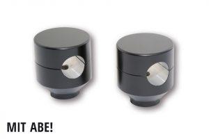 HIGHSIDER Riser Piston, schwarz, 42mm, 1 Zoll - schwarz