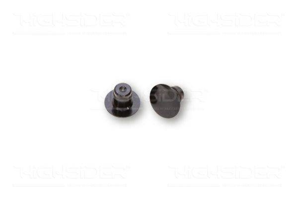 HIGHSIDER CNC täckbrickor M10, svart