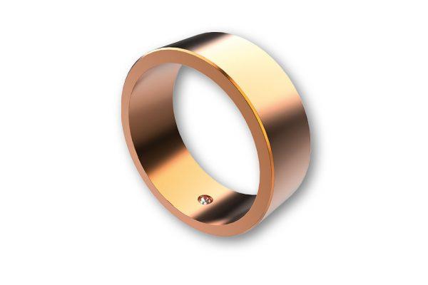 highsider Kolorowy pierścień do obciążników kierownicy