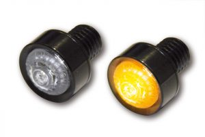 LED Blinker MONO - schwarz