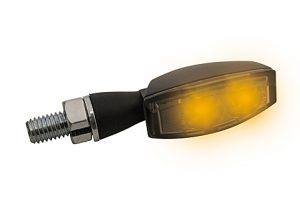 HIGHSIDER LED-blinkers BLAZE, svart, rökfärgat