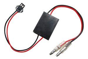 Ersatz-Elektronikbox 2 für LED-Blinker BLAZE, mit JST-Stecker weiß - Mini-Stecker