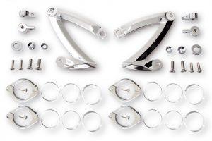 HIGHSIDER CNC lamphållar-set Z-STYLE, för 42+43 mm