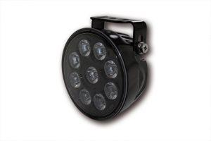 LED-helljusstrålkastare insats, svart reflektor