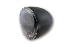HIGHSIDER 5 3/4 Zoll LED Hauptscheinwerfer CIRCLE, chrom - schwarz