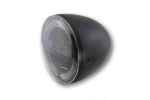 HIGHSIDER 5 3/4 tum LED-huvudstrålkastare CIRCLE, svart