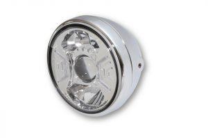 7 Zoll LED Scheinwerfer RENO TYP 2 - chrom