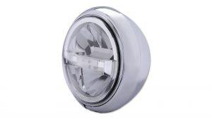 7 Zoll LED Scheinwerfer HD-STYLE TYP 4 - chrom