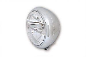 7 Zoll LED Scheinwerfer VOYAGE HD-STYLE - chrom