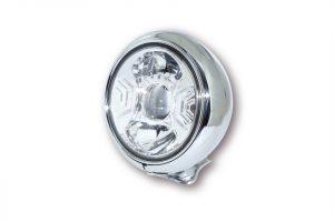 7 Zoll LED Scheinwerfer HD-STYLE TYP 2 - chrom