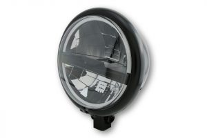 5 3/4 Zoll LED Scheinwerfer BATES STYLE TYP 5 - schwarz