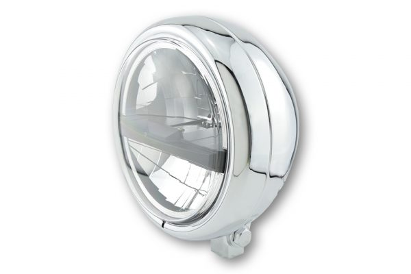 HIGHSIDER 5 3/4 inch LED-spot PECOS TYP 5, 5 3/4 inch, chroom