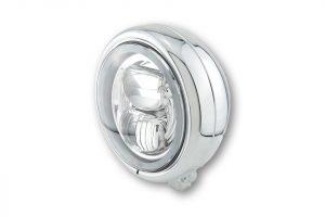 HIGHSIDER 5 3/4 inch LED-spot PECOS TYP 7 met zijlichtring, 5 3/4 inch, verchroomd.