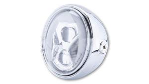 highsider 7 inch LED-koplamp SANTA FE TYP 8 met TFL, bochtverlichting, 7 inch LED-koplamp met TFL, bochtverlichting
