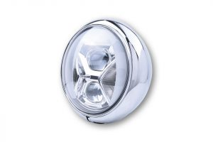 7-inch LED-koplamp HD-STYLE TYPE 8 met 7-inch LED-koplamp met TFL, bochtverlichting