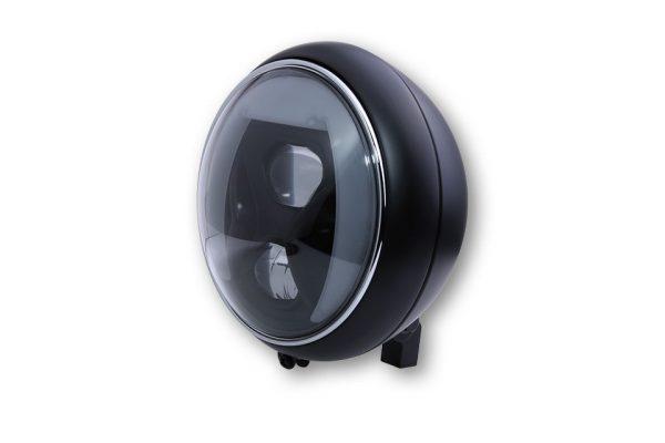 7 Zoll LED Scheinwerfer YUMA 2 TYP 8 mit TFL, Kurvenlicht - schwarz