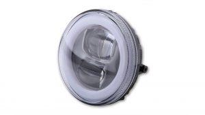 highsider Wkład reflektora głównego LED TYP 9, okrągły, 120 mm, z pierścieniem światła postojowego