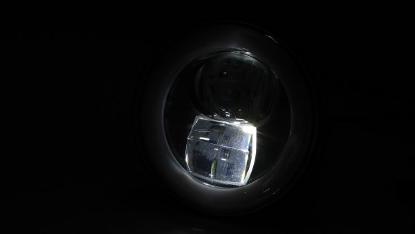 highsider LED-hoofdlampinzetstuk TYPE 9, rond, 120 mm, met parkeerlichtring, met LED-hoofdlampinzet TYPE 9, 120 mm, met parkeerlichtring