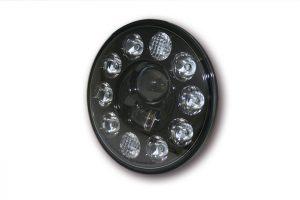 HIGHSIDER LED-huvudstrålkastarinsats Typ 1, 7 tum, svart