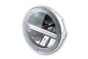 HIGHSIDER LED huvudstrålkastarinsats TYP 6 med TFL, rund, 5 3/4 tum