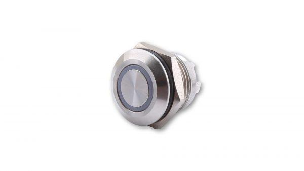 highsider Przycisk stal nierdzewna z podświetlanym pierścieniem LED