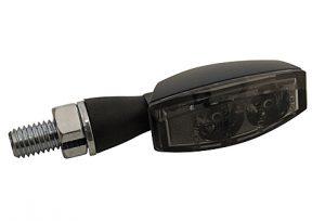 HIGHSIDER LED Rück-, Bremslicht, Blinker Einheit BLAZE, schwarz, klar - schwarz, getönt