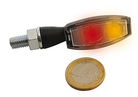HIGHSIDER LED-bakljus-/blinkers BLAZE, svart, klar