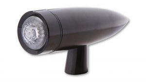 LED Rücklicht MONO BULLET LONG - schwarz