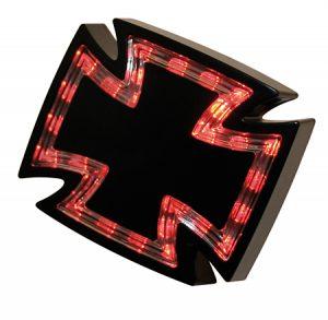 LED Rücklicht GOTHIC - schwarz