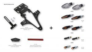 HIGHSIDER regskyltshållare Aprilia SMV 750 Dorsoduro 12-