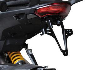HIGHSIDER regskyltshållare för Ducati Multistrada 1200 årsmodell 10-14