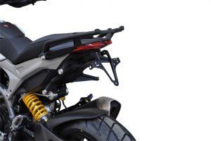 HIGHSIDER regskyltshållare Ducati Hypermotard/Hyperstrada fr.o.m årsmodell 2013