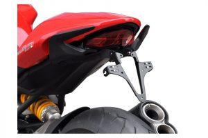 HIGHSIDER regskyltshållare för Ducati Monster 821, 14-