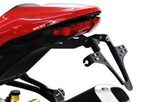 HIGHSIDER regskyltshållare för Ducati Monster 1200 R, 16-