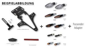 HIGHSIDER regskyltshållare Ducati Scrambler 800 2015-