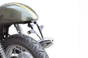 HIGHSIDER regskyltshållare Triumph Thruxton 900, Bonneville, Scrambler