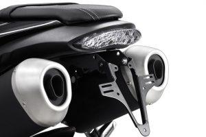 HIGHSIDER regskyltshållare för Triumph Speed Triple årsmodell 2016-
