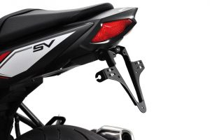 HIGHSIDER regskyltshållare Suzuki SV 650 årsmodell 2016-