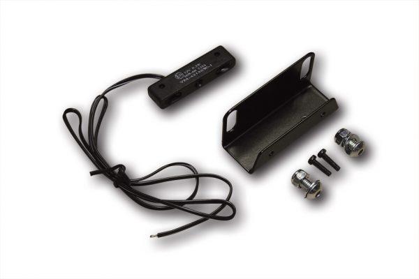 HIGHSIDER hållarvinkel med LED regskyltsbelysning Art.-Nr. 256-033