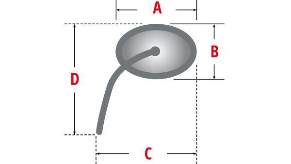 HIGHSIDER spegel VICTORY vänster / höger
