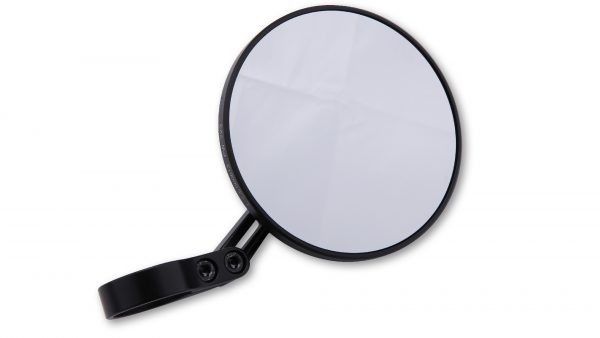 Staafeinde spiegel CONERO 2 - ZWARTE EDITION -, kort