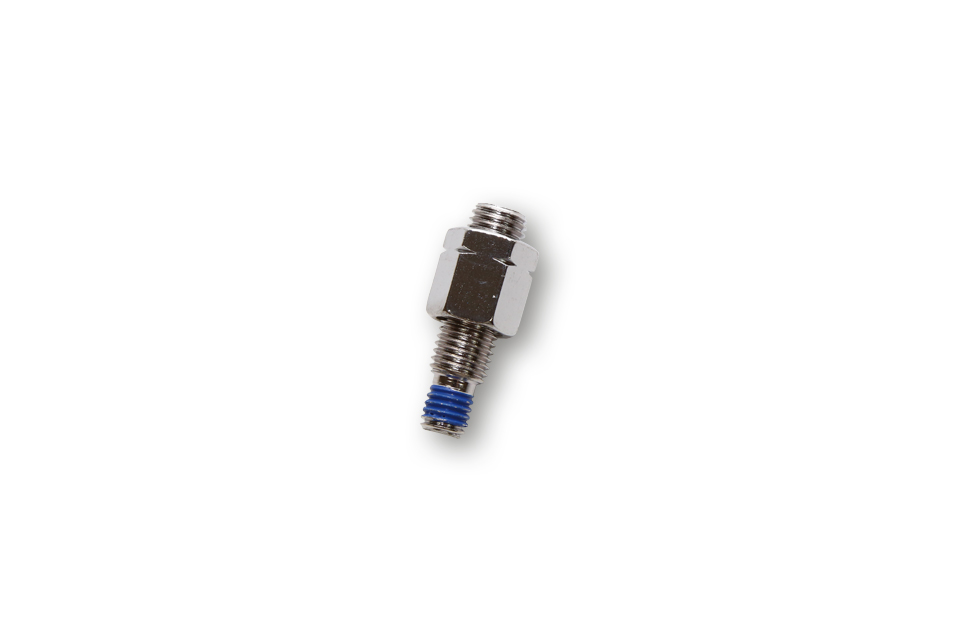 highsider Adapter lusterka M10 x 1,25 gwint lewy na M8