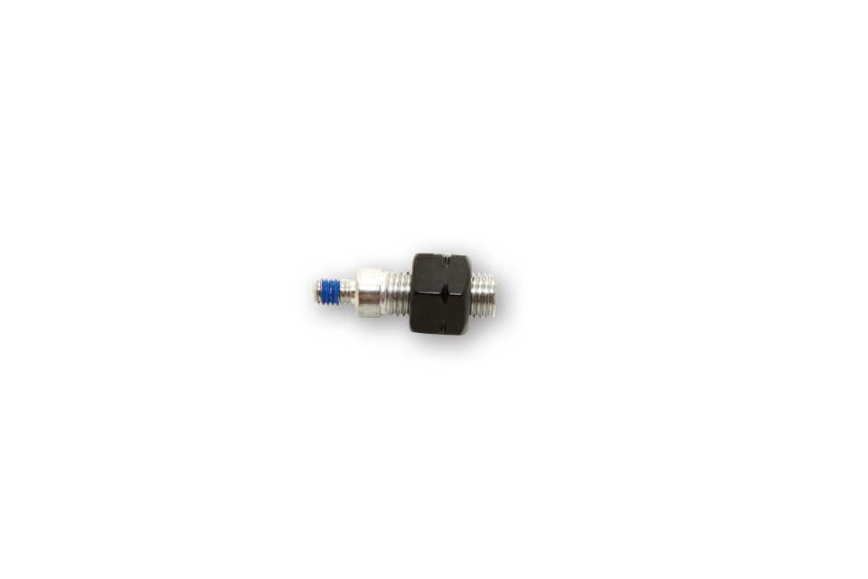 highsider Adapter lusterka M10 x 1,25 mm z gwintem lewym na M6, czarny