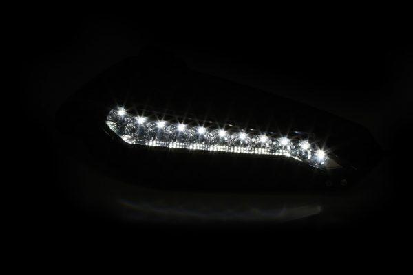 highsider Handbeschermers met LED-dagrijlicht