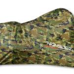 highsider Motorfietszeil Camouflage, buitenshuis