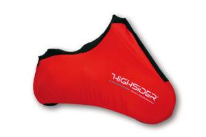 Highsider Indoor-presenning, Spandex, S, röd