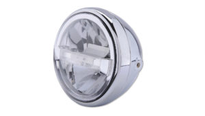 HIGHSIDER 7 tum LED-strålkastare RENO TYP 4, krom